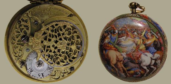 fd1c481c70d A atual caixa deste relógio pode ser fruto de uma encomenda especial saída  da oficina de Tompion ou pode tratar-se de uma caixa posterior