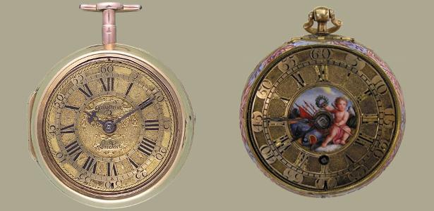 00b710b3d7a Os Tompion da Casa-Museu Relógios de Bolso de Thomas Tompion (1639 ...
